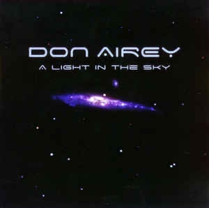 "Album cover of Don Airey's solo album ""A Light in the Sky""."