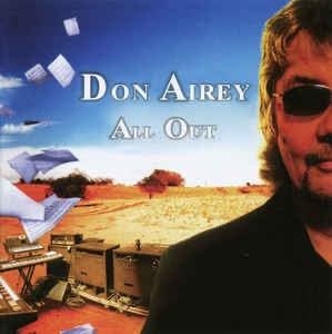 "Album cover of Don Airey's solo album ""All Out""."