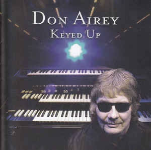 "Album cover of Don Airey's solo album ""Keyed Up""."